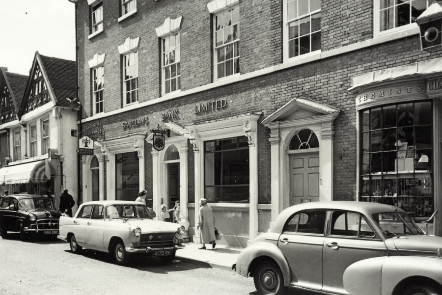 Barclays Bank on Market Street c.1960