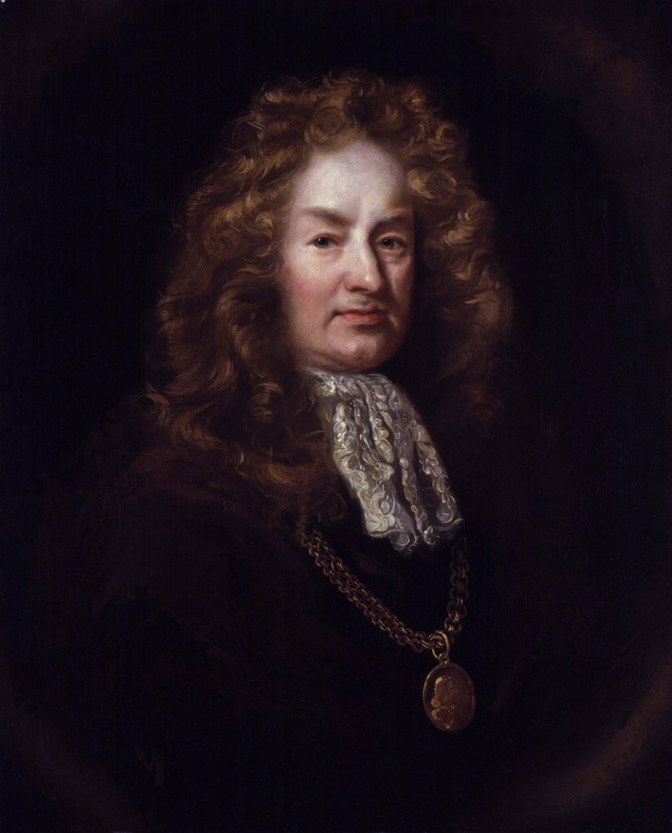Elias Ashmole (23 May 1617 - 18 May 1692)